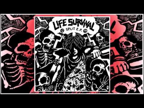 """LIFE / INSTINCT OF SURVIVAL - Split E.P. (FULL 7"""" Split/ 2016)"""
