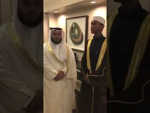 Qari Ahmed Burhan and Mishary Al Afasy