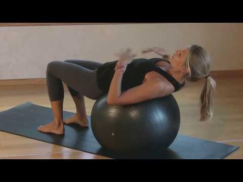Bài tập Yoga với bóng