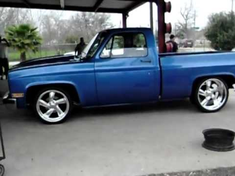 My 1983 Chevy Truck C10 Getting New Tires Rudys Tire