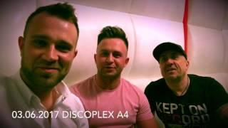 Freaky Boys - Zaproszenie na koncert - Discoplex A4 (03.06.2017)