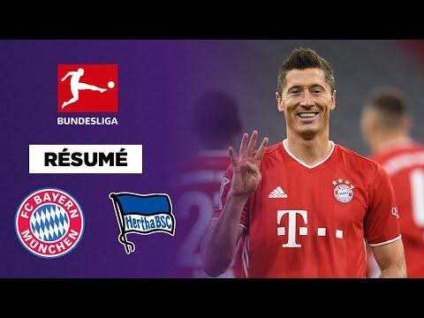 Résumé - Bundesliga : Lewandowski 4 - Hertha 3 !