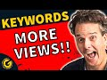 YouTube Channel Keywords - Rank Your Channel?