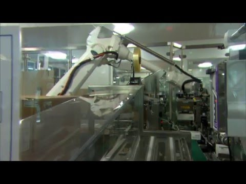 Unique ABB robot solution increases throughput at AstraZeneca Australia
