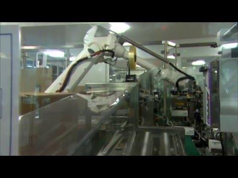 Unique ABB Robot Solution Increases Throughput At AstraZeneca Australia