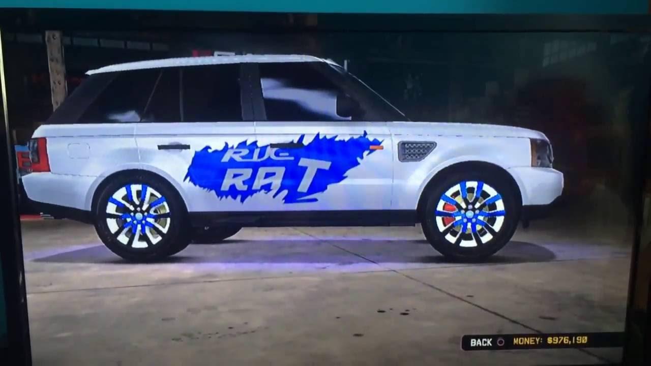 Faze Rugs Modified Range Rover Not