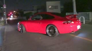 真っ赤なポルシェ サーキットの狼か 山口百恵のプレイバックパ-ト2 Porsche プレイバックPart2 playbackPart2 スーパーカー thumbnail