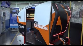Driverless car simulation at WMG - University of Warwick