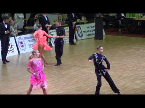 2017 Ukrainian Open Junior 2 Latin Final Cha cha