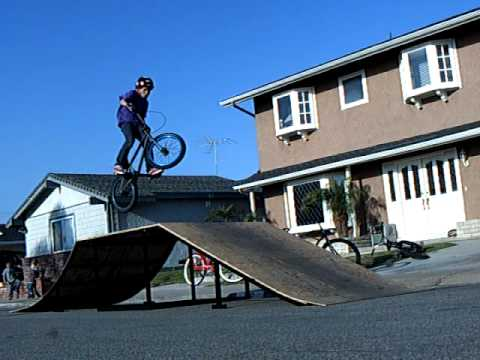 how to make a small bmx ramp