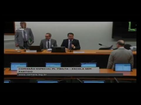 PL 7180/14 - ESCOLA SEM PARTIDO - Reunião Deliberativa - 11/07/2018 - 17:22