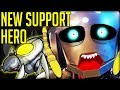 NEW SUPPORT HERO - TERRIFYING, TINY AND TACTICAL - Overwatch! (Healing Swarm Hero Concept)