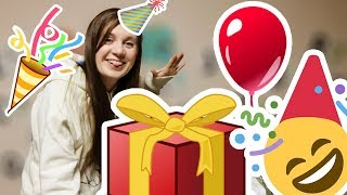 יום הולדת! מקלפת את המתנות שלי