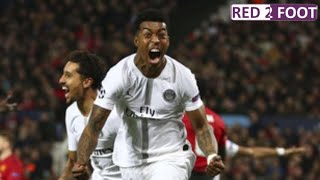 Manchester United - PSG (0-2) -- LA FOLLE SOIREE