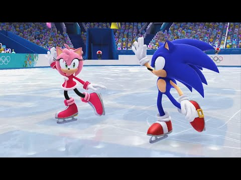 Mario and Sonic at the Sochi 2014 Olympic Winter Games - Fig