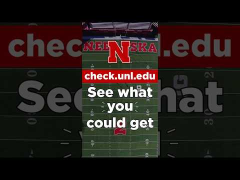 Check Your Scholarships at Nebraska - Haley