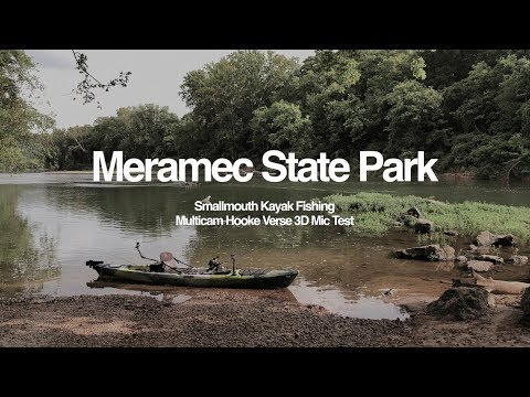 Meramec State Park Kayak Smallmouth Fishing