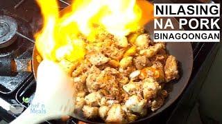 Nilasing na Pork Binagoongan Recipe (best version)