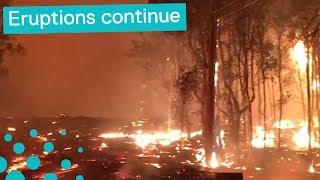 Hawaii Lava 2018 - Kilauea Continues to Erupt