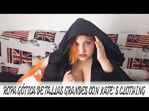 mejores telas original mejor calificado venta caliente online ROPA GÓTICA DE TALLAS GRANDES CON KATE´S CLOTHING - YouTube