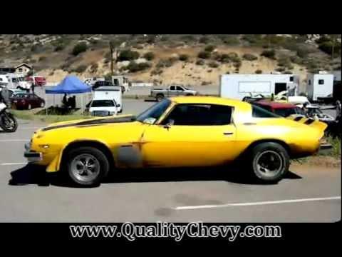 Transformers Bumblee Bee Camaro Drag Racing Barona Drag