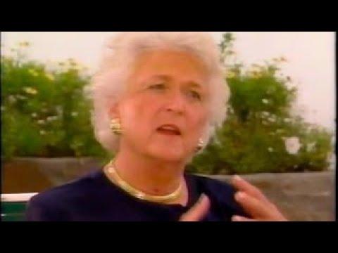 Barbara Walters Interviews Barbara Bush (t 1994)