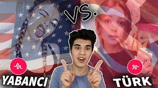 TÜRK Musically VS Yabancı Musically Videoları