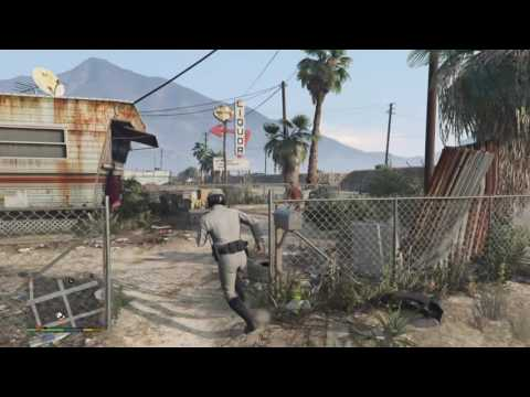 EXTREMELY MILITARY BASE ( GTA 5 Funny Moments )