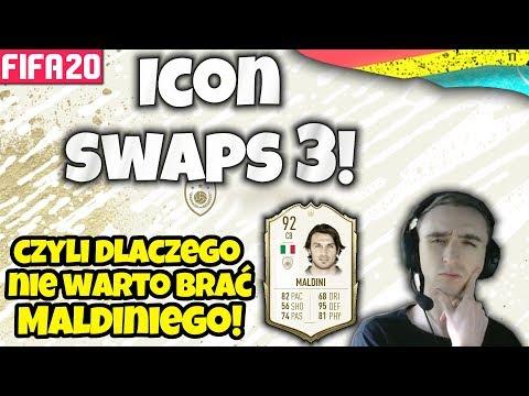 NAJPOTĘŻNIEJSZE Omówienie ICON SWAPS 3! - FIFA 20 ULTIMATE TEAM [MefjuFootball]