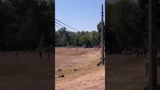 Играют в бейсбол в Киеве, в первый раз так была близко к игре и на живо! ⚾
