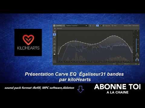 """abc du beatmaking """"propellerheads présentation du CARVE EQ par kilohearts """""""