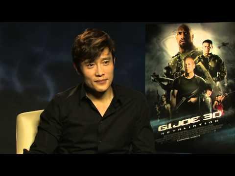 Byung-hun Lee Interview - G.I. Joe Retaliation