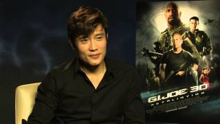 Byung-hun Lee Interview - G.I. Joe Retaliation