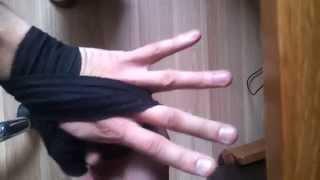 Как бинтовать руки для бокса. Бинтовка рук (бокс, тайский бокс, мма)