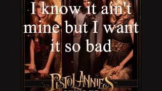 Pistol Annies - I Feel A Sin Comin