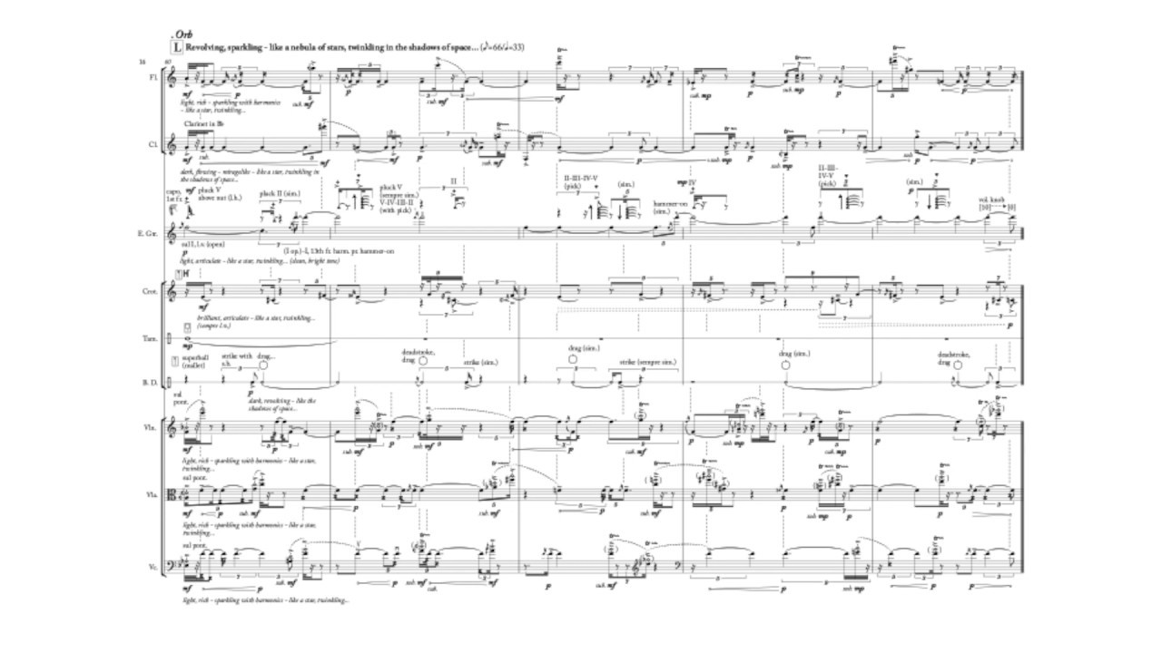 "Nick Virzi: ""Six Silver Rings of (((Aquamarine)))"" for Septet (2017) 