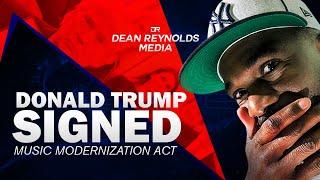 Donald Trump Music Modernization Act