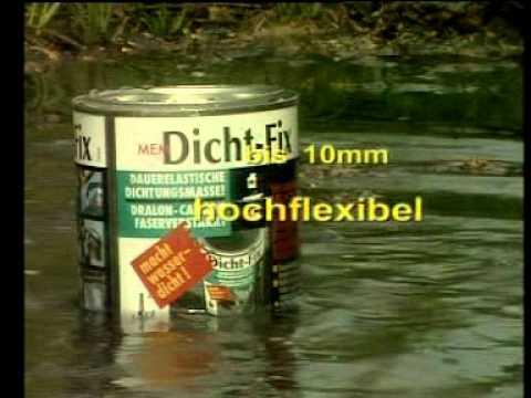 Anleitung Mem Dicht Fix Universalabdichtung Dach Dachrinne Abdichten