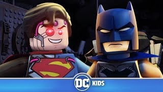 LEGO Justice League Cosmic Clash | Batman VS Brainiac Superman | DC Kids