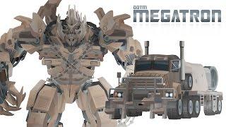 MEGATRON  (DOTM) - Short Flash Transformers Series