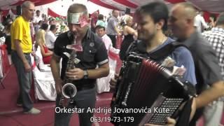 Repeat youtube video Svadba Nemanja i Marija, Vukmanovac, Orkestar Andrije Jovanovica Kute - Najlepsa Vlaska kola 2016