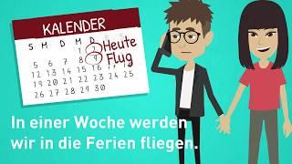 Deutsch lernen / Futur / Zukunft / Lektion 43