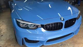 2018 BMW M3 Yas Marina Blue ( Ultimate New Car Protection )