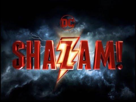 Official Shazam! Movie Logo