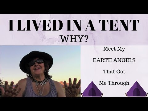 FRIDAY FEATURE #2: Yep, I Really Did Live In A TENT - In Limbo Land