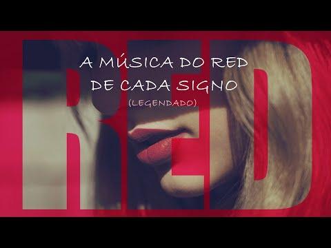 A música do Red (da Taylor Swift) de cada signo (Legendado)