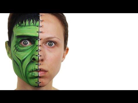 Frankenstein Face Painting | Ashlea Henson