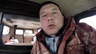 УАЗ Буханка. тюнинг салона. установка шторки на магнитах