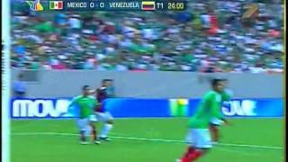 Partido amistoso: Mexico vs Venezuela 4-0 [24/06/09] Azteca Deportes