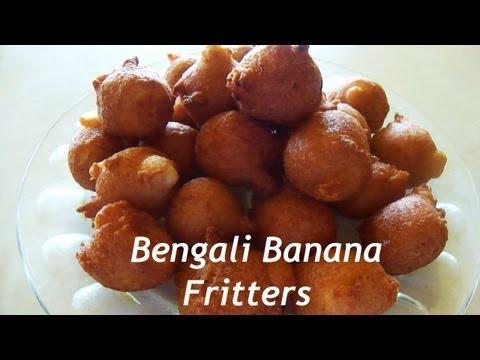 Bengali Banana Fritters / কলা...